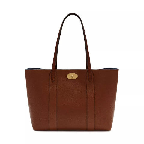 Mulberry Bayswater Tote Oak Small Classic Grain Pumpz