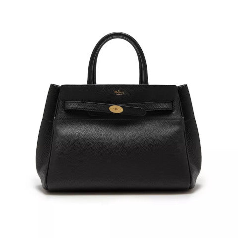 Mulberry Belted Bayswater Black Small Classic Grain Pumpz