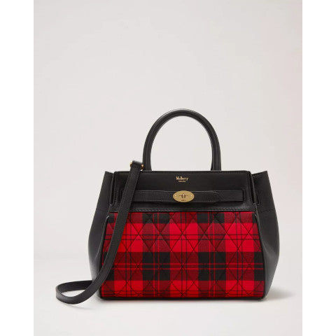 Mulberry plaid multi color small belted bayswater Pumpz