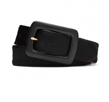 W.Kleinberg Haircalf Belt in Black