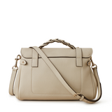 Mulberry Alexa Chalk Heavy Grain Pumpz