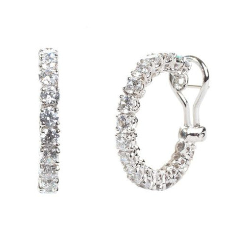 Fantasia CJ15 Hoop Earrings