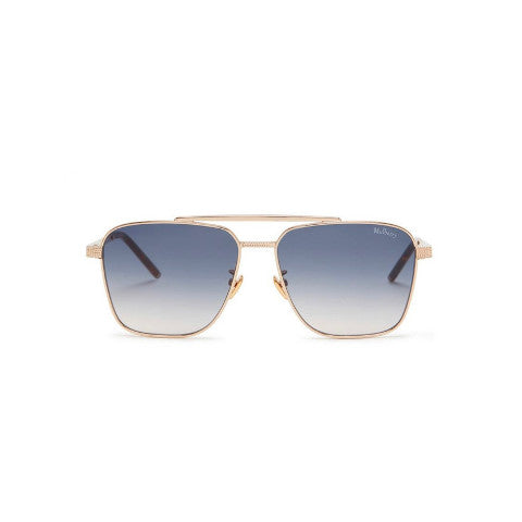 Mulberry Clifton Sunglasses gold blue green silver Pumpz