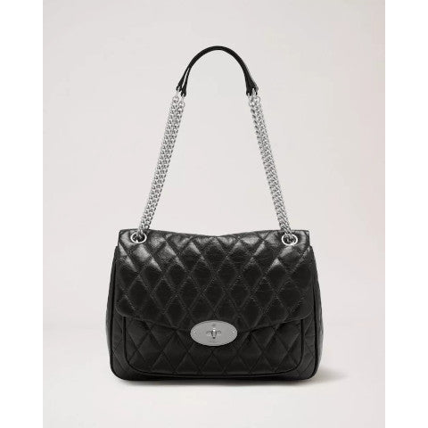 Mulberry Quilted Darley Shiny Buffalo Pumpz