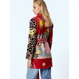 Hayley Menzies Enchanted Leopard belted cardigan sweater Pumpz