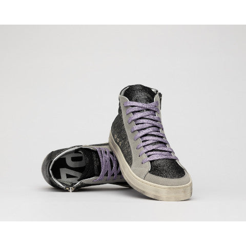 P448 Skate Black/Loft High Top Sneaker Pumpz