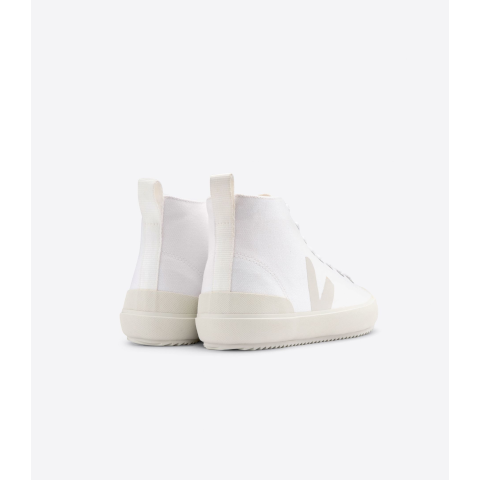 Veja Nova High top white canvas pierre Pumpz
