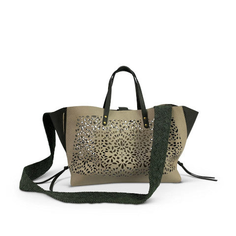 Kempton Cut out Knightsbridge Tote Pumpz