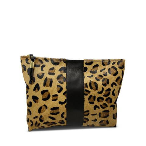 Kempton Medium Leopard Pouch Pumpz