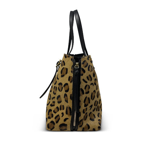 Kempton Leopard Kingsbridge Tote Pumpz