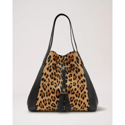 Mulberry Millie Leopard Haircalf Pumpz