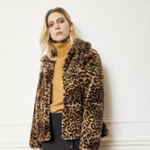 MKT Studio Miniloo Jacket in Leopard