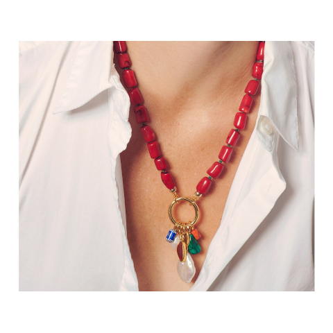 Lizzie Fortunato Sweet Escape Necklace Pumpz