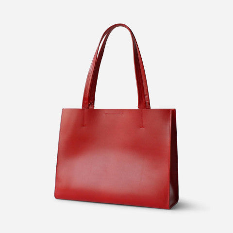 Minor History News Tote Red Pumpz