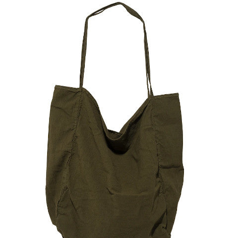 Utility Canvas Errand Tote Olive Pumpz