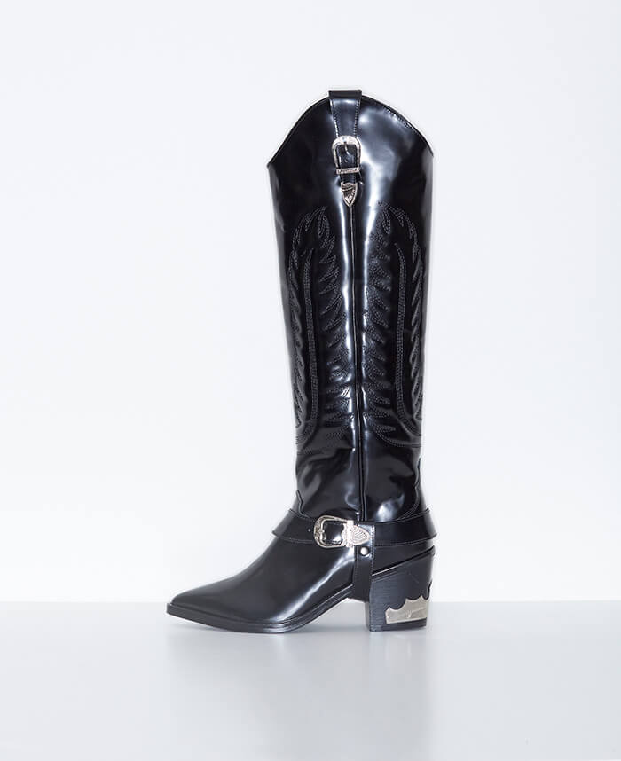 Toga Pulla Knee High Cowboy Boot