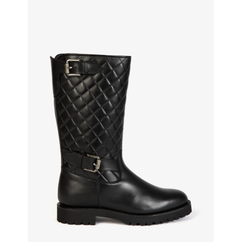 Penelope Chilvers Quilted shearling Aspen Boot Pumpz