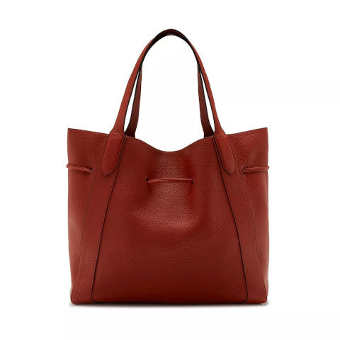 Mulberry Millie Tote Heavy Grain Rust Pumpz