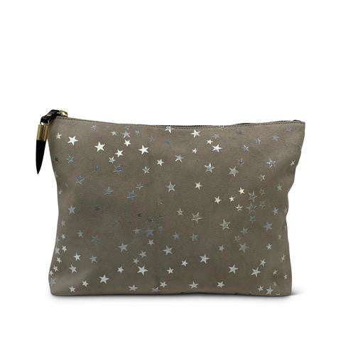 Kempton Taupe Star Medium Pouch Pumpz