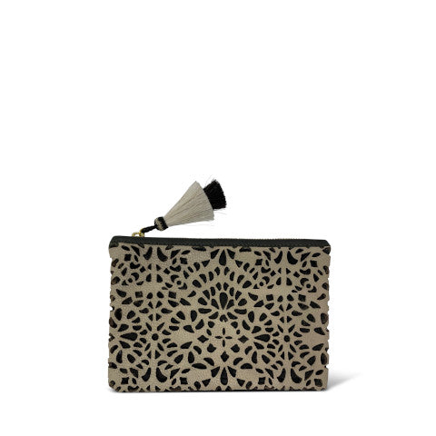 Kempton Small Cut out leather pouch Pumpz