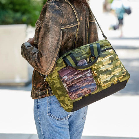 Think Royln Soho Camo satchel Pumpz