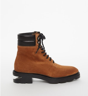 Alexander Wang Andy Hiker boot suede brown Pumpz