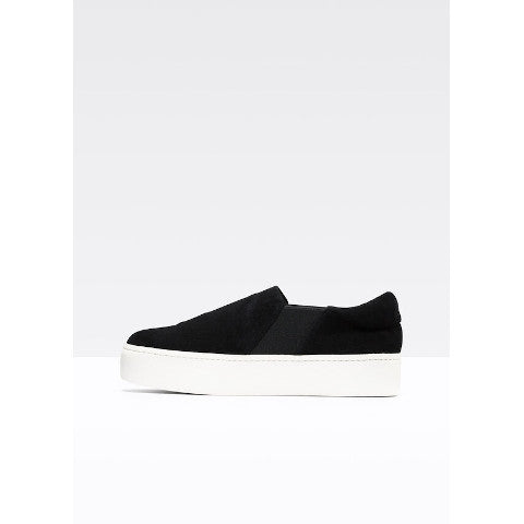 Vince Warren suede sneaker in black or grey Pumpz