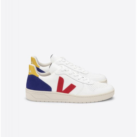 Veja V-10 Leather Pekin Cobalt Tonic Pumpz