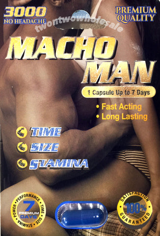 5X - MACHO MAN 3000