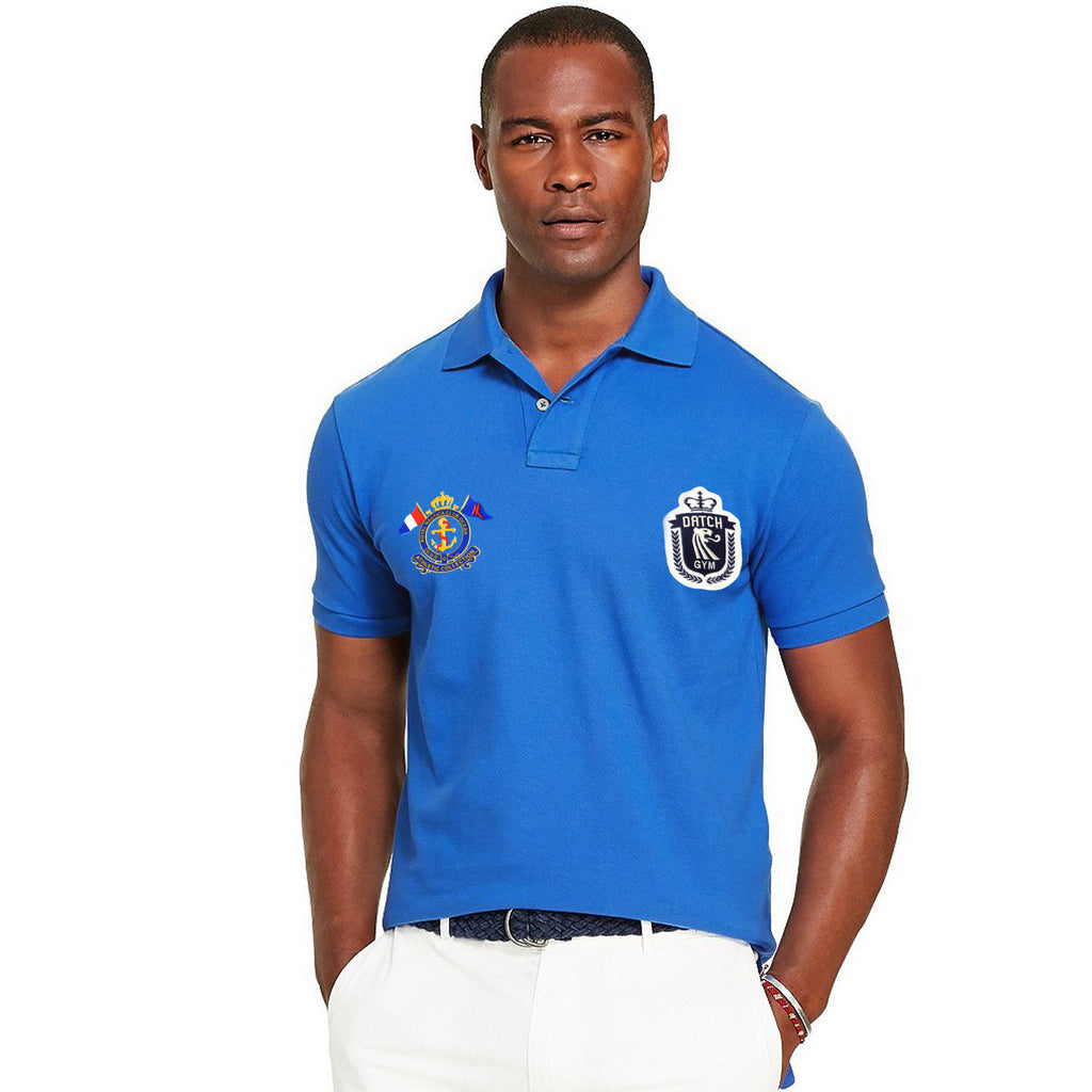 Men's Original RNCO Cut Label Triumph Blue Polo Shirt