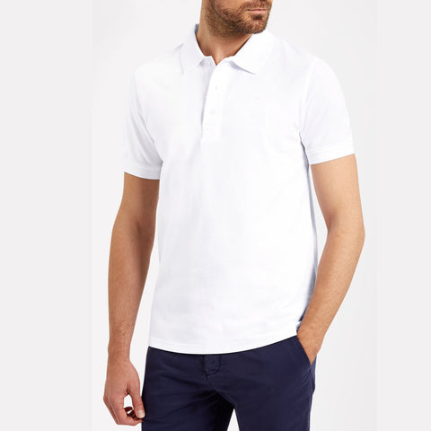 Men's Original Ultra Club Classic Polo Plain White *