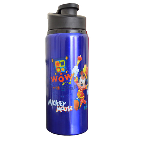 Kids Sports Mickey Mouse Bottle in Blue