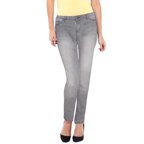 Ladies Original Splash Skin Fit Stretchable Grey 'B Grade' Denim