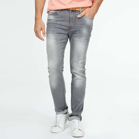 Original Kiabi Grey Slim Fit Stretchable 'B Grade' Jeans