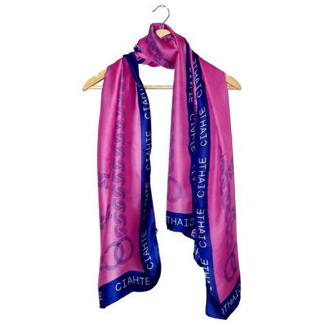Digital Printed Silk Scarf's Design