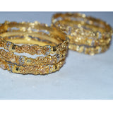 Gold Platted Bangles Set