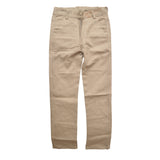 Kid's Cream Color Cotton Pent