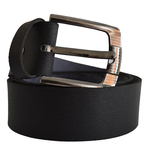 Men's OP Black Leather Belt 2