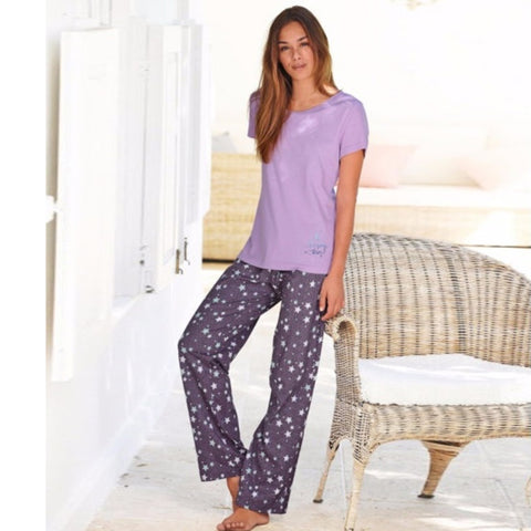 BPC's Light Purple Ladies Sleeping Suit 213