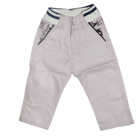 Kid's Light Pink Cotton Pent