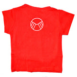 Kid's American Eagle Logo T-Shirt in Red
