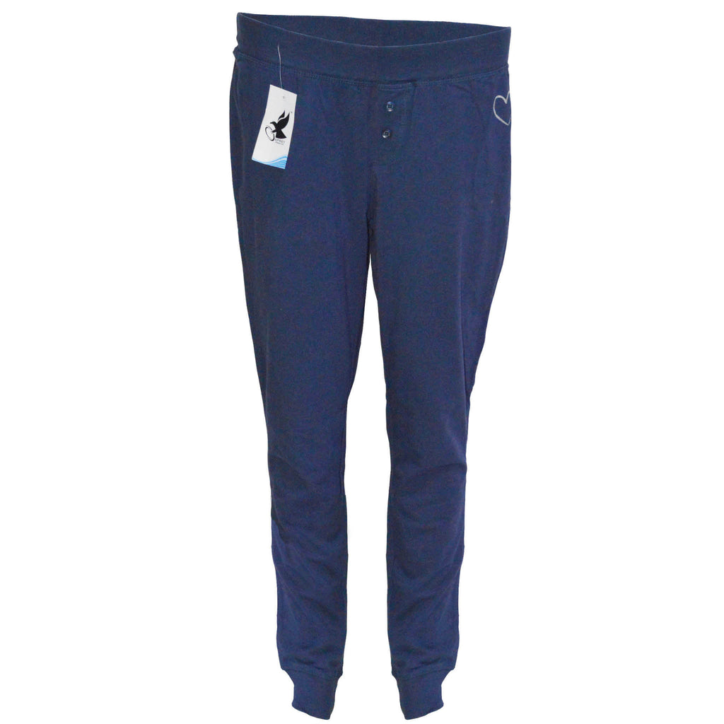 Buffalo's Cotton Sleeping Trousers-Blue