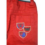 Kid's Red Cotton Pent