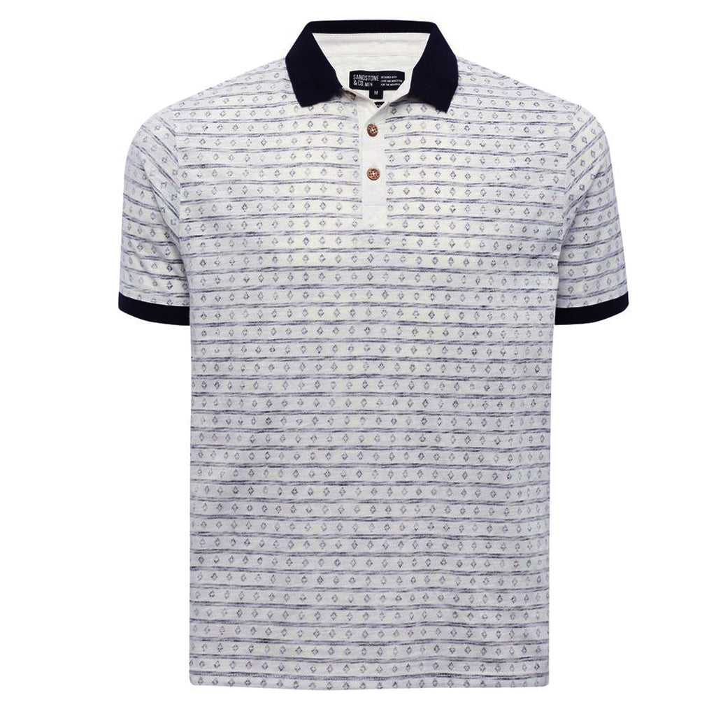 Men's original Elegant Reverse Style Polo by Sandstone