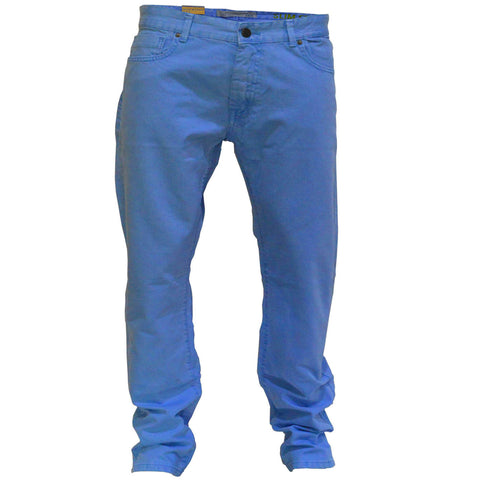 Men's Original MO Cotton Pents Slim Fit Sky Blue