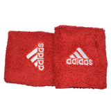 Adidas Unisex Sports Wristbands in Red