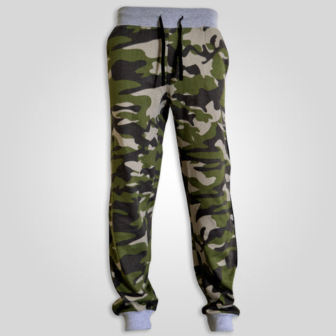 Men's Original Cargoquay Camouflage Fleece Trouser