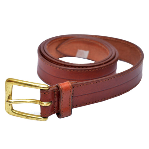 Ladies Original OP Brownish Leather Belt
