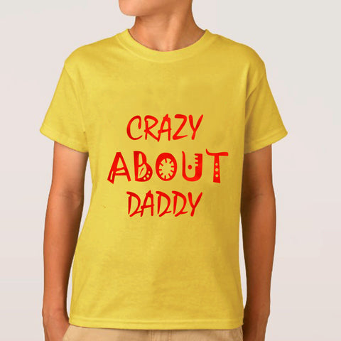 kids T shirt Yellow by Ideal 007