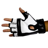 Amazing Sports Gloves Black-White